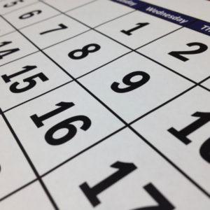 レアレアのレッスンカレンダー